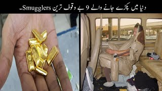 9 Most Stupid Smugglers Ever Caught Urdu | دنیا میں پکڑے جانے والے بے وقوف ترین لوگ | Haider Tv