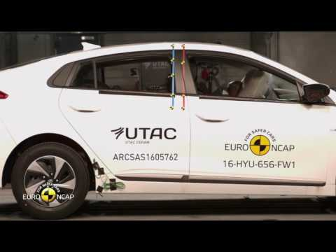 Euro NCAP Crash Test of Hyundai Ioniq