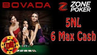 Bovada Poker - 5NL Zone Poker EP 3 - Texas Holdem Poker Strategy - Cash Game 2013