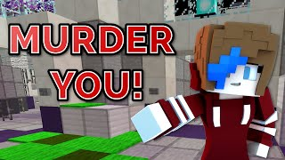 MINECRAFT | MURDER GAMEPLAY | GAMER CHAD & RADIOJH GAMES | NEW SKIN