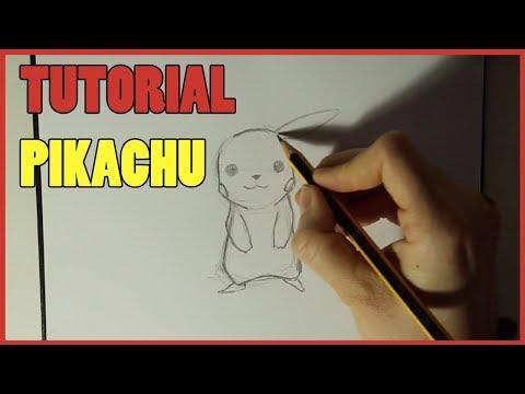 Tutorial Come Disegnare Un Pikachu игровое видео смотреть онлайн