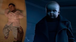 Resident Evil Village Baby as Chris Chris as Baby