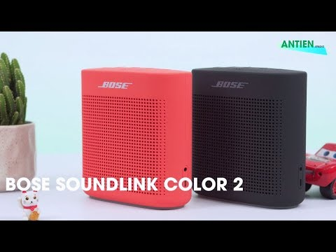 Bose Soundlink Color 2 l Thiết kế tinh tế - Âm thanh cực chất