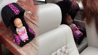 How to make a Doll Car Seat