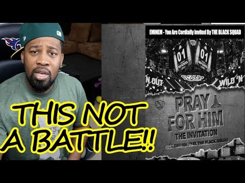 Will Eminem Respond? Pray For Him - The Invitation (2nd Diss) | REACTION