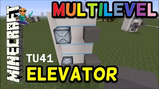 Super Simple Elevator Tutorial Minecraft Xbox Ps3 Tu15 Pc