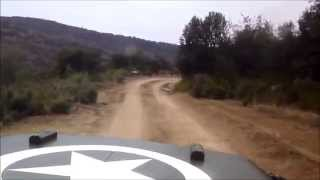 preview picture of video 'JEEP WILLYS HOTCHKISS M201 BETWEEN EL GUIXARÓ AND CASSERRES'