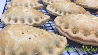 Easy But Perfect Ghana Meat Pie Recipe