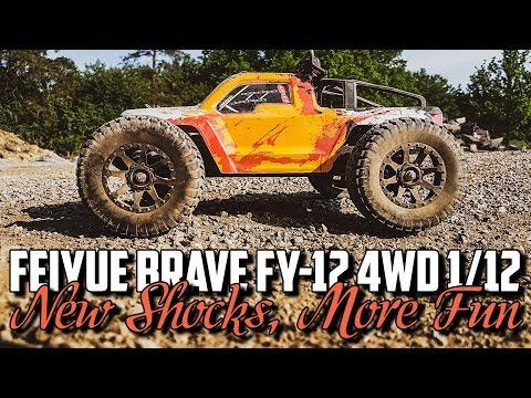 Feiyue Brave FY-12 4WD 1/12 - New Shocks, More Fun