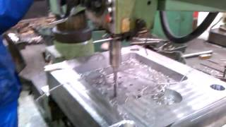 Radial Arm Drilling Die Casting Mold