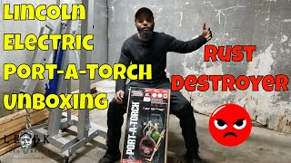 Lincoln Electric Port A Torch Acetylene & Oxygen Part 1