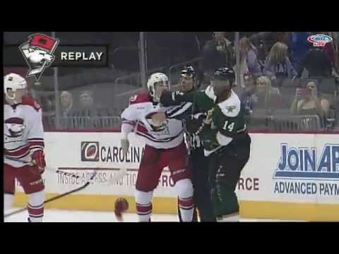 Carter Sandlak vs. Gemel Smith