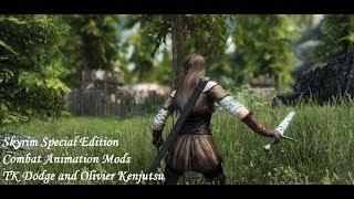 Combat Animations Mods - TK Dodge and Olivier Kenjutsu