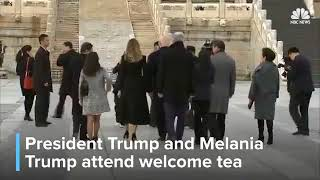 Breaking News TODAY 11.08.17, PRESIDENT TRUMP ARRIVES AT CHINA'S FORBIDDEN CITY!
