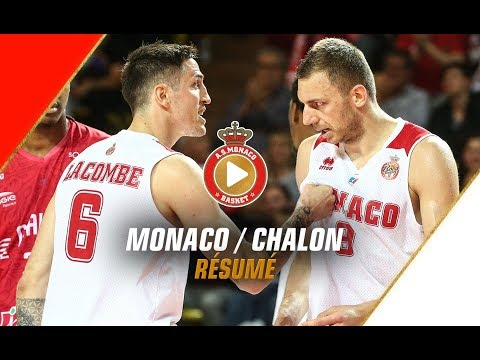 Jeep Elite — Monaco 93 - 78 Chalon — Highlights