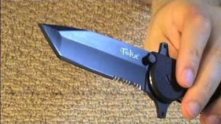 Tekut Ares Fixed Blade and Folding Knives