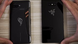 Asus ROG Phone vs Razer Phone 2 - Speed Test! What Will Happen?!