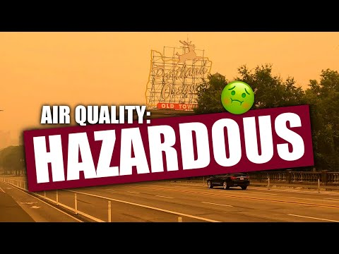 "Air Quality Along the West Coast Has Literally Been ""Hazardous"" for DAYS"