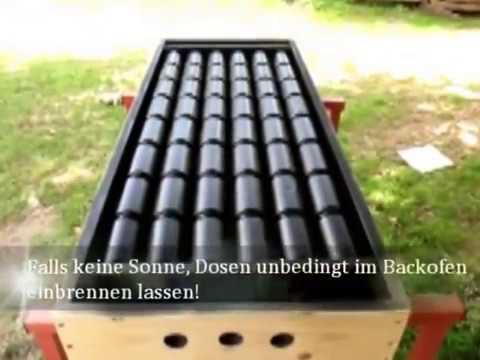 Dörrhaus für  Kräuter und Gemüse mit Solaranlage selber bauen