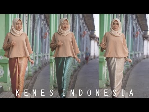 Video Cara Memakai Kain Lilit Songket by @kenes.id