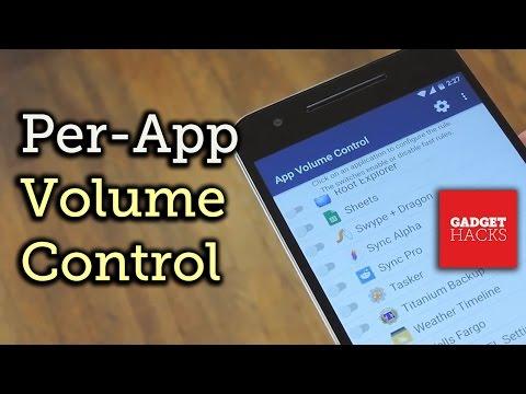 App Volume Control Lets You Change Your Phone's Volume Per App
