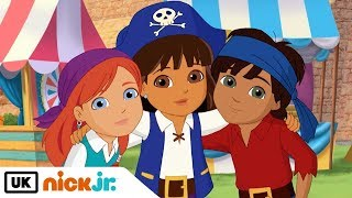 Dora And Friends   Sing Along - Be A Pirate   Nick Jr. UK