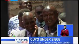 Nairobi Marjority leader, Abdi Guyo, under siege