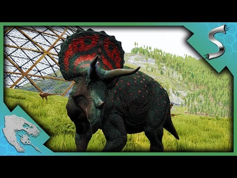 IT CAME OUT OF NOWHERE! TRICERATOPS PROGRESSION! - The Isle [Gameplay]