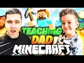 7 Year Old RowdyRogan Teaches DAD how to Play *MINECRAFT*