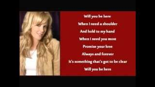 Anita Cochran - Will You Be Here (+ lyrics 1997)