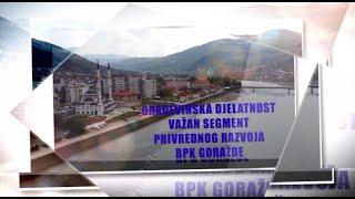 Građevinska djelatnost  važan segment privrednog razvoja BPK Goražde