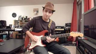 "Little Wing - Jimi Hendrix ""note for note"" Cover"