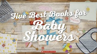 Five Best Books for Baby Showers