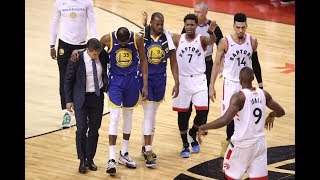 Kevin Durant Suffered An Achilles Injury In Game 5 | NBA Finals