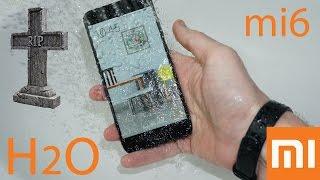 Xiaomi Mi6 - тесты, игры, троттлинг, смерть от воды. Часть 2