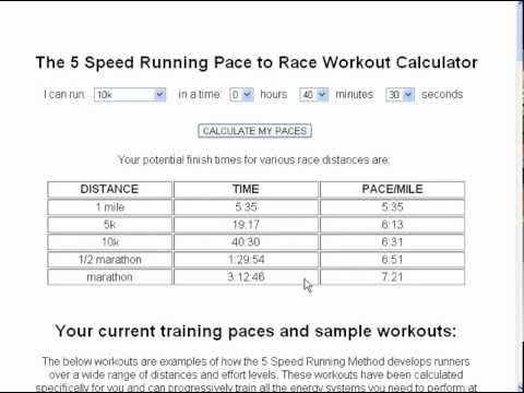 mp4 Training Pace Calculator, download Training Pace Calculator video klip Training Pace Calculator