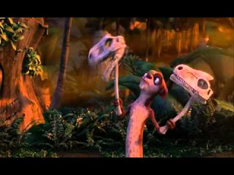 Download Ice Age 3 Buck Plays With Skulls HD Mp4 3GP Video and MP3