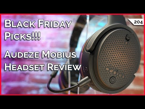 ▻ Black Friday PC Parts, Audeze Mobius Gaming Headset, JDS