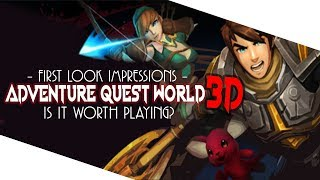 Adventure Quest World 3D - First Look Impressions - Is It Worth Playing Right Now?