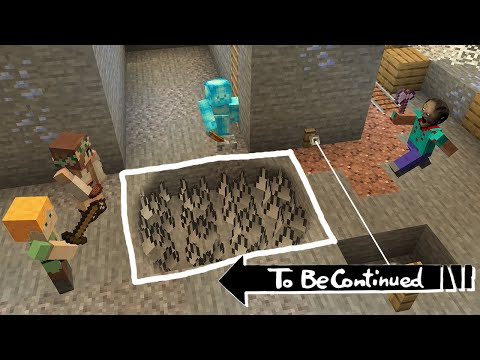 Traps for Granny with players in minecraft By Scooby Craft