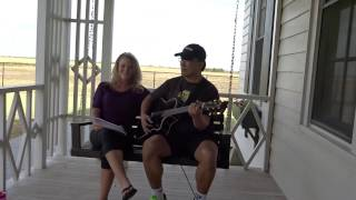 """Singing """"Pickin' Time"""" at Johnny Cash's boyhood home in Dyess, AR"""