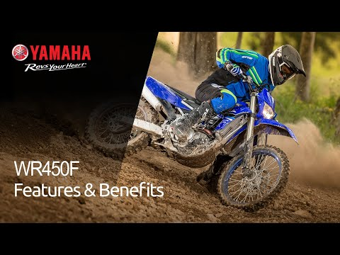 2021 Yamaha WR450F in Unionville, Virginia - Video 2