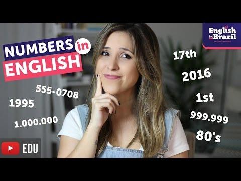 TUDO sobre números em inglês | Numbers in English