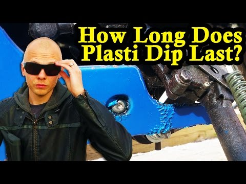 How Long Does Plasti Dip Last? + Pressure Washer Test