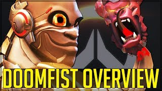 DOOMFIST IN GAME - ABILITY AND LORE BREAKDOWN - Overwatch!