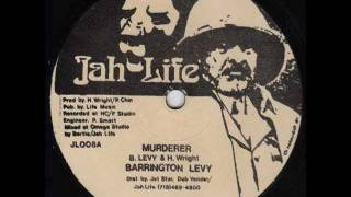 BARRINGTON LEVY  Murderer + version  (Jah Life)  12""