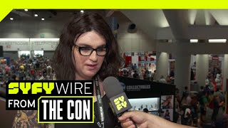 Eternity Girls Magdalene Visaggio On Mental Health In Comics & Young Animal | SDCC 2018 | SYFY WIRE