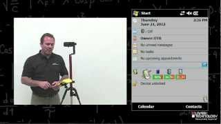 ArcPad LaserGIS TruPulse Training 1 -- Connecting Devices Via Bluetooth