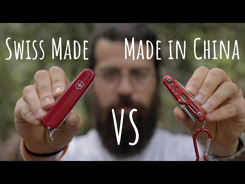 Victorinox VS Multiuso Cinese Economico - TEST