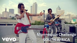 THAT GIRL IS A REAL CROWD PLEASER : Official Mannequin Challenge | South Africa